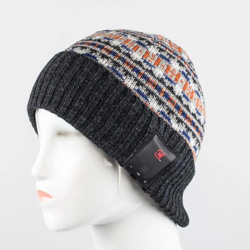 Blu Toque Bluetooth Beanie Dual Layered Knit Hat - Northbound