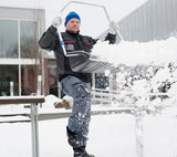 "Masi Polar plus ergonomic  snow pusher Shovel-""an amazing tool"" 100 % CUSTOMER SATISFACTION bEST SNOW SHOVEL ON THE MARKET"