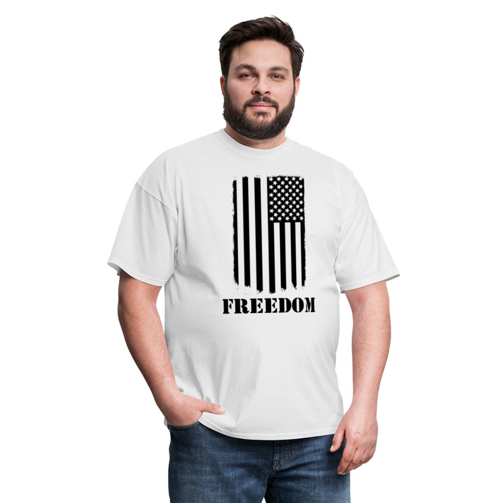 Freedom Shirt (up to 6XL) - white
