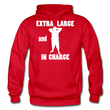 Load image into Gallery viewer, Large and In Charge Hoodie (up to 5xl) - red