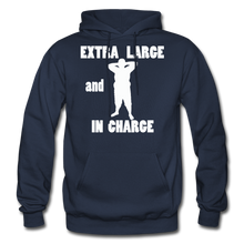 Load image into Gallery viewer, Large and In Charge Hoodie (up to 5xl) - navy