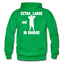 Load image into Gallery viewer, Large and In Charge Hoodie (up to 5xl) - kelly green