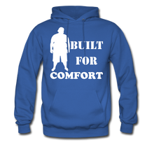 Load image into Gallery viewer, Built For Comfort Hoodie (Up to 5xl) - royal blue