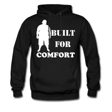 Load image into Gallery viewer, Built For Comfort Hoodie (Up to 5xl) - black