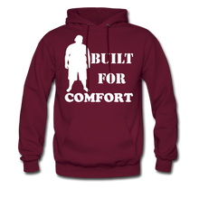 Load image into Gallery viewer, Built For Comfort Hoodie (Up to 5xl) - burgundy