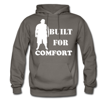 Load image into Gallery viewer, Built For Comfort Hoodie (Up to 5xl) - asphalt gray