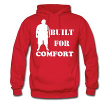 Load image into Gallery viewer, Built For Comfort Hoodie (Up to 5xl) - red