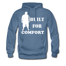 Load image into Gallery viewer, Built For Comfort Hoodie (Up to 5xl) - denim blue