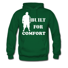 Load image into Gallery viewer, Built For Comfort Hoodie (Up to 5xl) - forest green