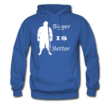 Load image into Gallery viewer, Bigger IS Better Hoodie (up to 5xl) - royal blue