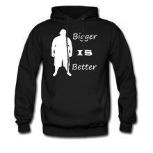 Load image into Gallery viewer, Bigger IS Better Hoodie (up to 5xl) - black