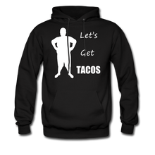 Load image into Gallery viewer, Let's Get Tacos Hoodie (Up to 5xl) - black
