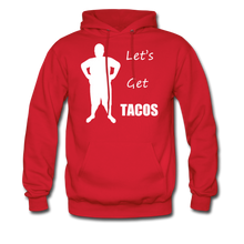 Load image into Gallery viewer, Let's Get Tacos Hoodie (Up to 5xl) - red