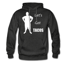 Load image into Gallery viewer, Let's Get Tacos Hoodie (Up to 5xl) - charcoal gray