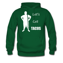 Load image into Gallery viewer, Let's Get Tacos Hoodie (Up to 5xl) - forest green