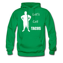 Load image into Gallery viewer, Let's Get Tacos Hoodie (Up to 5xl) - kelly green