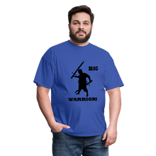 Load image into Gallery viewer, Big Warriors Tee (Up to 6xl) - royal blue