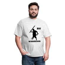 Load image into Gallery viewer, Big Warriors Tee (Up to 6xl) - light heather gray
