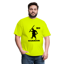 Load image into Gallery viewer, Big Warriors Tee (Up to 6xl) - safety green