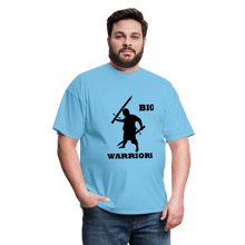 Load image into Gallery viewer, Big Warriors Tee (Up to 6xl) - aquatic blue