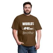 Load image into Gallery viewer, World's OK-est Brother (Up to 6xl) - brown