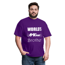 Load image into Gallery viewer, World's OK-est Brother (Up to 6xl) - purple