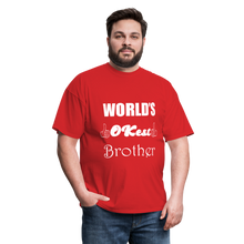 Load image into Gallery viewer, World's OK-est Brother (Up to 6xl) - red