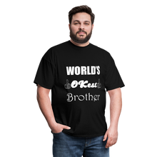 Load image into Gallery viewer, World's OK-est Brother (Up to 6xl) - black