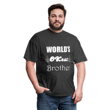 Load image into Gallery viewer, World's OK-est Brother (Up to 6xl) - heather black