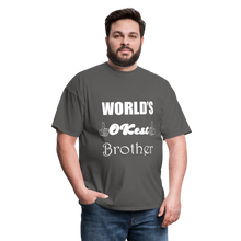Load image into Gallery viewer, World's OK-est Brother (Up to 6xl) - charcoal