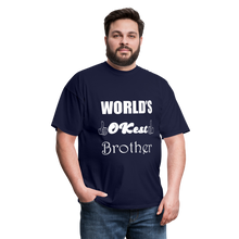 Load image into Gallery viewer, World's OK-est Brother (Up to 6xl) - navy