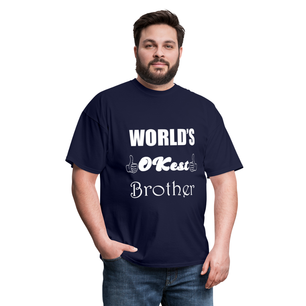 World's OK-est Brother (Up to 6xl) - navy