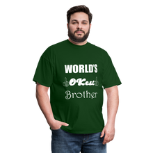 Load image into Gallery viewer, World's OK-est Brother (Up to 6xl) - forest green
