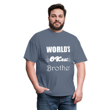 Load image into Gallery viewer, World's OK-est Brother (Up to 6xl) - denim
