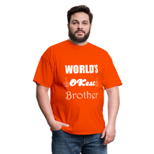 Load image into Gallery viewer, World's OK-est Brother (Up to 6xl) - orange