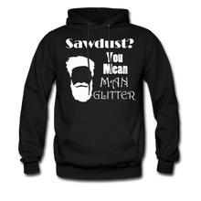 Load image into Gallery viewer, ManGlitter Hoodie (Up to 5xl) - black