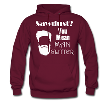 Load image into Gallery viewer, ManGlitter Hoodie (Up to 5xl) - burgundy