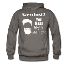 Load image into Gallery viewer, ManGlitter Hoodie (Up to 5xl) - asphalt gray