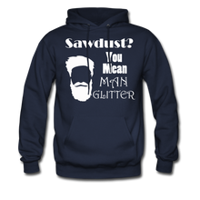 Load image into Gallery viewer, ManGlitter Hoodie (Up to 5xl) - navy