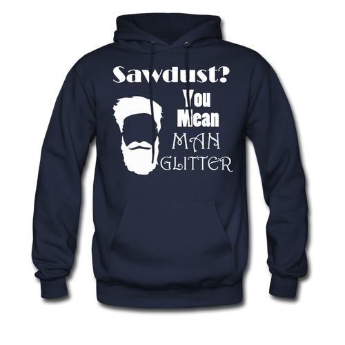 ManGlitter Hoodie (Up to 5xl) - navy