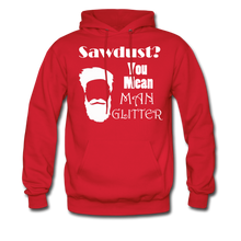 Load image into Gallery viewer, ManGlitter Hoodie (Up to 5xl) - red