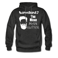 Load image into Gallery viewer, ManGlitter Hoodie (Up to 5xl) - charcoal gray