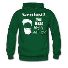 Load image into Gallery viewer, ManGlitter Hoodie (Up to 5xl) - forest green
