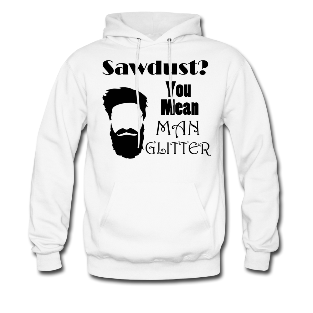 Manglitter Hoodie (Up to 5xl) - white