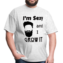 Load image into Gallery viewer, Grow It Tee (Up to 6xl) - light heather gray