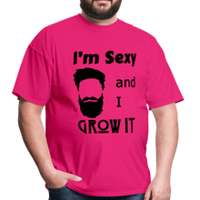 Load image into Gallery viewer, Grow It Tee (Up to 6xl) - fuchsia