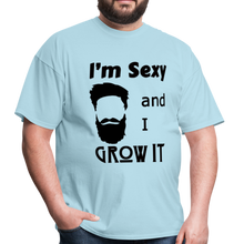 Load image into Gallery viewer, Grow It Tee (Up to 6xl) - powder blue