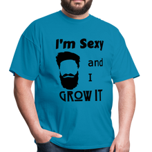 Load image into Gallery viewer, Grow It Tee (Up to 6xl) - turquoise
