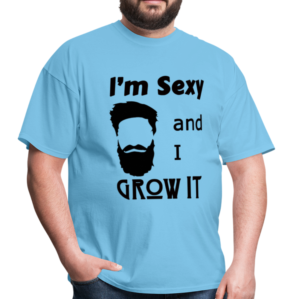 Grow It Tee (Up to 6xl) - aquatic blue