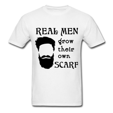 Load image into Gallery viewer, Scarf Beard Tee (Up to 6xl) - white